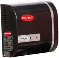 View VOLPRO UPTO 32'inch LED / LCD / SMART TV VOLTAGE STABILIZER(Black) Home Appliances Price Online(VOLPRO)