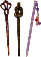 Vogue Wedding combo of juda sticks Bun Stick(Multicolor)