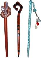 ELV 7-in-1 combo of juda sticks Bun Stick(Multicolor) - Price 450 77 % Off
