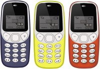 I Kall K71 Pack of Three Mobile(Dark Blue & Yellow & Red) - Price 1199 42 % Off