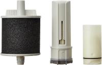 View Pureit Advanced Germkill Kit 1500 L Gravity Based Water Purifier(White) Home Appliances Price Online(Pureit)