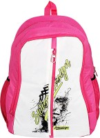 View Swiss Design 16 inch Laptop Backpack(Pink) Laptop Accessories Price Online(Swiss Design)