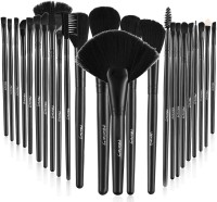 Foolzy Professional Makeup Brush Set with Travel Case(Pack of 24)