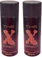 The Effect Pack of 2 combo set Deodorant Spray - For Men(200 ml, Pack of 2)
