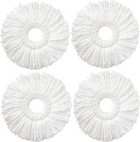 WCSE Mop refill (set of 4) Wet & Dry Mop(White)