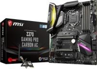 MSI Z370 GAMING PRO CARBON AC ATX Motherboard(Black)