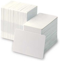 S-tech Thermal Card Plain Off-White PVC Cards For Ebbolish and Zebra Printer (not for inkjet printers)(each pack of 200 cards) 3.375
