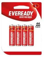 Eveready Give Me Red AA Battery(Pack of 4) Flipkart deals