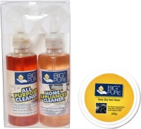 BIG Pure All Purpose Cleaner 200 ml, Home Appliances Cleaner 200 ml and Heavy Duty Hand Cleaner 200 g(400 ml)