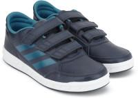 ADIDAS Boys & Girls Velcro Cross trainers(Blue)