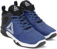 REEBOK Boys Lace Basketball Shoes(Blue)