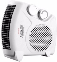 View prolife Staywarm 2000W Upright / Flatbed Fan Heater (ISI APPROVED) with Two Heat Settings and Cool Blow, White Fan Room Heater Home Appliances Price Online(prolife)