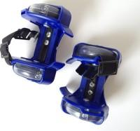 Crown FLASHING ROLLER SKATE (Baby skates with lighting ) In-line Skates - Size 12-16 UK(Blue)