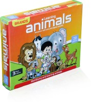Tiny's World Learning about Animals for 3 years and above kids Board Game