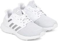 Adidas Boys & Girls Lace Running Shoes(White)