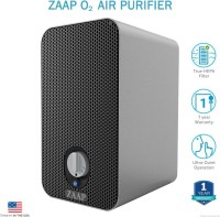 View Zaap O2 AIR PURIFIER Portable Room Air Purifier(Black) Home Appliances Price Online(Zaap)