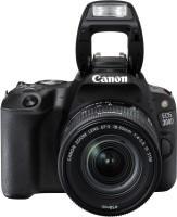 Canon EOS 200D DSLR Camera EF-S18-55 IS STM EF-S 55-250 IS STM(Black)
