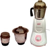 Silver Home High Performance Swift 550 Mixer Grinder(Pink, 3 Jars)