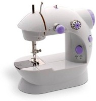View LosewIog Mini 4 In 1-1380 Electric Sewing Machine( Built-in Stitches 45) Home Appliances Price Online(LosewIog)