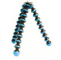 Yantralay 10 inch Flexible Gorillapod Tripod With Mobile Attachment For DSLR & Smartphones Tripod Tripod, Tripod Kit, Monopod(Blue, Supports Up to 2500 g)