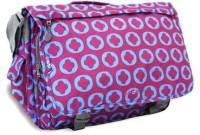 J World New York Waterproof Messenger Bag(Blue, 1 L)