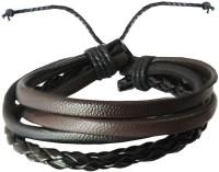 Rich & Famous Leather Bracelet