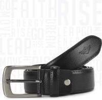 Metronaut Men Casual Black Artificial Leather Belt
