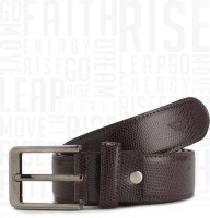 Metronaut Men Casual Brown Artificial Leather Belt