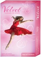 Moods Velvet Female Condoms Condom(3S)
