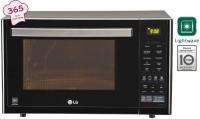 LG 32 L Charcoal Convection Microwave Oven(MJ3296BFT, Black)