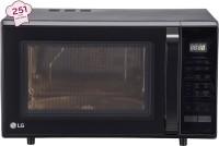 LG 28 L Convection Microwave Oven(MC2846BLT, Black)
