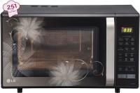 LG 28 L Convection Microwave Oven(MC2846BCT, Black)