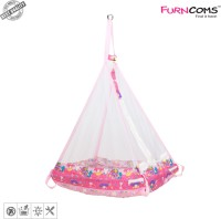 Buy Furncoms 1032 Hanging Baby Cradle With Mosquito Net