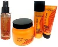 Matrix Opti Care Shampoo(200ml), Conditioner(98g),Serum(100ml) and Masque(490g) mega combo(4 Items in the set)