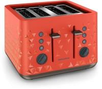 Morphy Richards Prism 4 Slice 2200 W Pop Up Toaster(Orange)