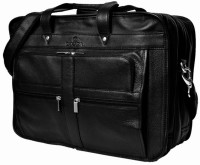 View Zakara 15 inch Laptop Messenger Bag(Black) Laptop Accessories Price Online(Zakara)