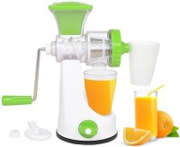 Incredible Master Non-Electric juicer for fruits and vegetables 0 Juicer(Green, 1 Jar)