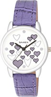 SAMEX LATEST STYLISH LOVE HEARTS STUDDED COLORED FASHIONABLE VALENTINE SPECIAL BEST CASUAL DISCOUNTED SALES PRICE DEAL WATCH Watch  - For Women