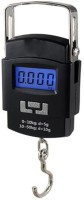 CHAMPION Wide LCD screen display, easy to read Weighing Scale(Black)