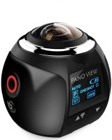 ZVR 360 DEGREE VIEW 8G IRFNO2.4FOV 2200 Sports & Action Camera(Black)