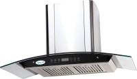 MEGLIO CALISTA 90 T Wall Mounted Chimney(SILVER 1250)