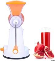 Incredible Master Non-Electric juicer for fruits and vegetables 0 Juicer(Orange, 1 Jar)