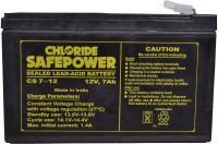 Exide 12v 7Ah Sealed Maintenance Free -UPS, CFL & Gel Solar Battery(12 V)