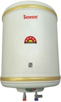 View pv star 15 L Storage Water Geyser(White, 15 L Electric Water Geyser (White, POWER SUNPOINT Premium 15 Litre Water Heater Geyser With 5 Star Rating ||Pressure Relief Velve ||Fusible Plug || Thermal Cutout || Extra Long ISI Heating Element || ISI Marked Thermostat ||)) Home Appliances Price Online(PV Star)
