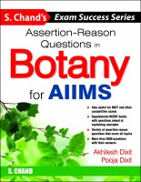 Assertion - Reason Questions in Botany for AIIMS First Edition(English, Paperback, Pooja Dixit, Akhilesh Dixit)