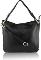 Silver Rose Shoulder Bag(Black)