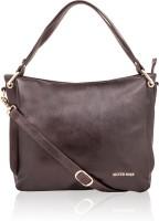 Silver Rose Shoulder Bag(Brown)