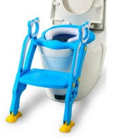 GOCART Portable Foldable BAby Potty Training Teat (Color may Vary) Potty Seat(Blue)