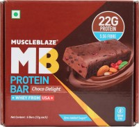 Muscleblaze Power Bar (Chocolate Delight, 72GM, Pack of 6)