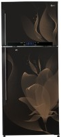 View LG 495 L Frost Free Double Door Refrigerator(Twilight Magic, GL-T542GTMX)  Price Online